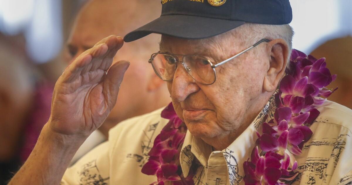 La Mirada man is last Pearl Harbor survivor interred at USS Arizona - Los Angeles Times