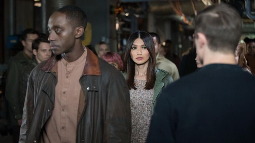 """The sci-fi drama """"Humans"""" is back for a third season on AMC. With Ivanno Jeremiah and Gemma Chan."""
