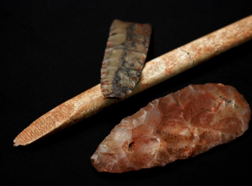 Clovis-era artifacts