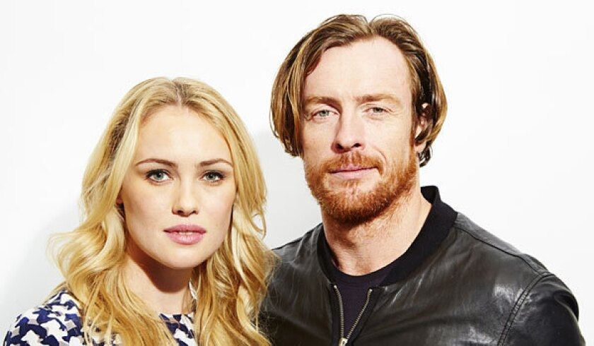 """Hannah New and Toby Stephens star in in the upcoming TV series """"Black Sails,"""" a prequel to the """"Treasure Island"""" story."""