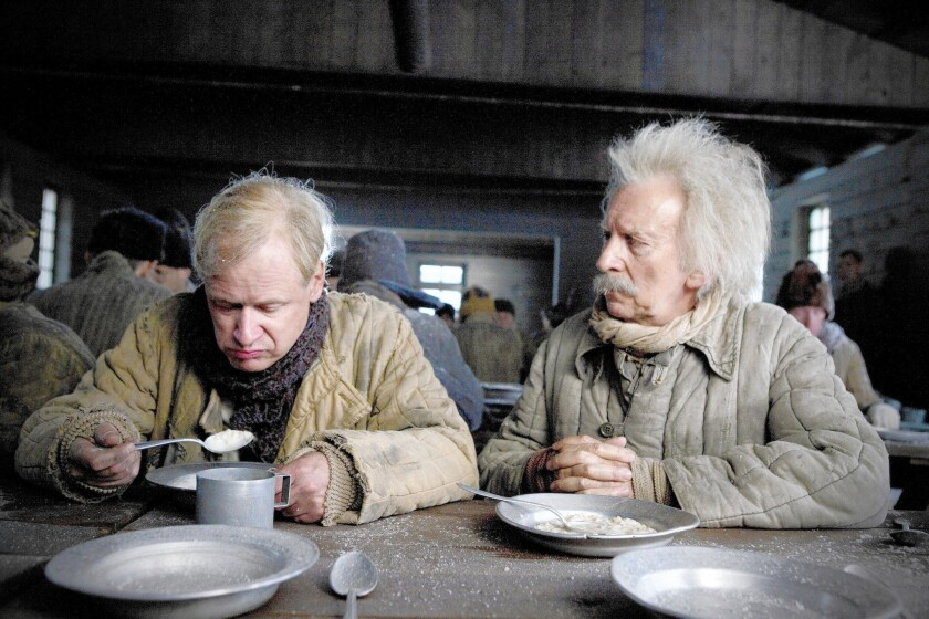 "Allan (Robert Gustafsson) and Herbert (David Shackleton) in ""The 100-Year-Old Man."""