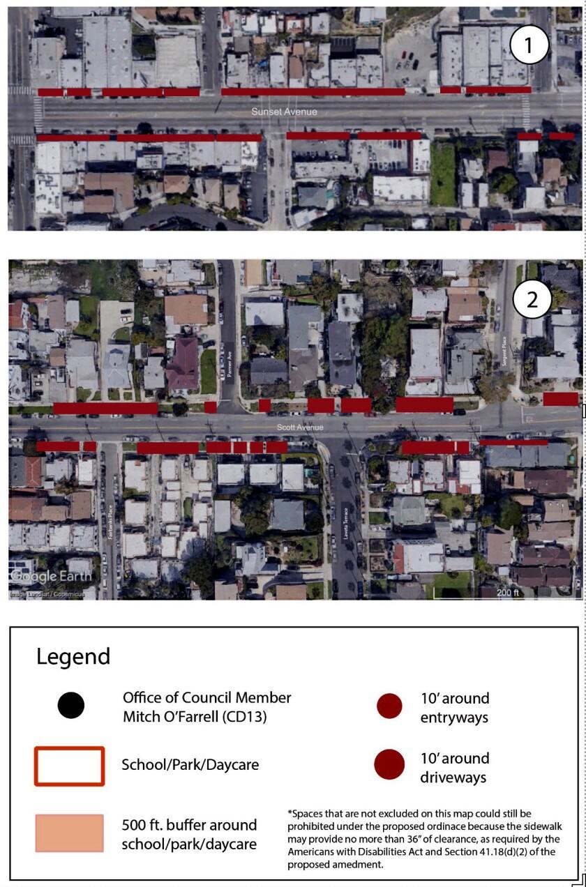 Homeless sidewalk sleeping map