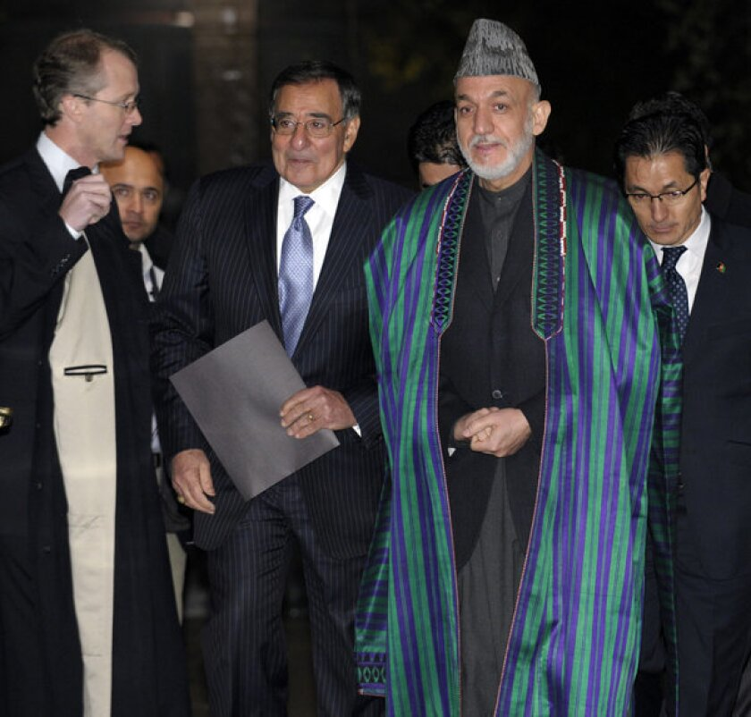 U.S., Afghan officials discuss troops' post-2014 legal jurisdiction