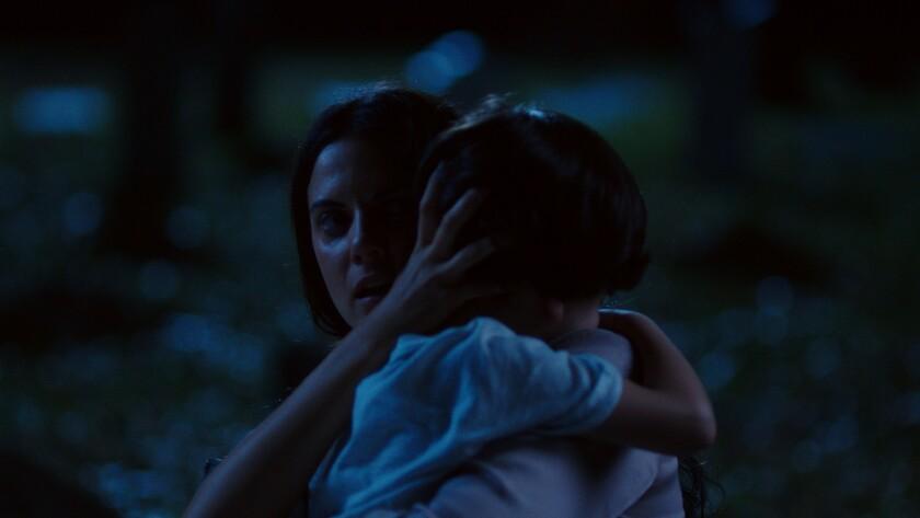 """Melina Matthews en una escena del 'thriller' sobrenatural """"Silencio"""", que se estrena hoy en los Estados Unidos."""