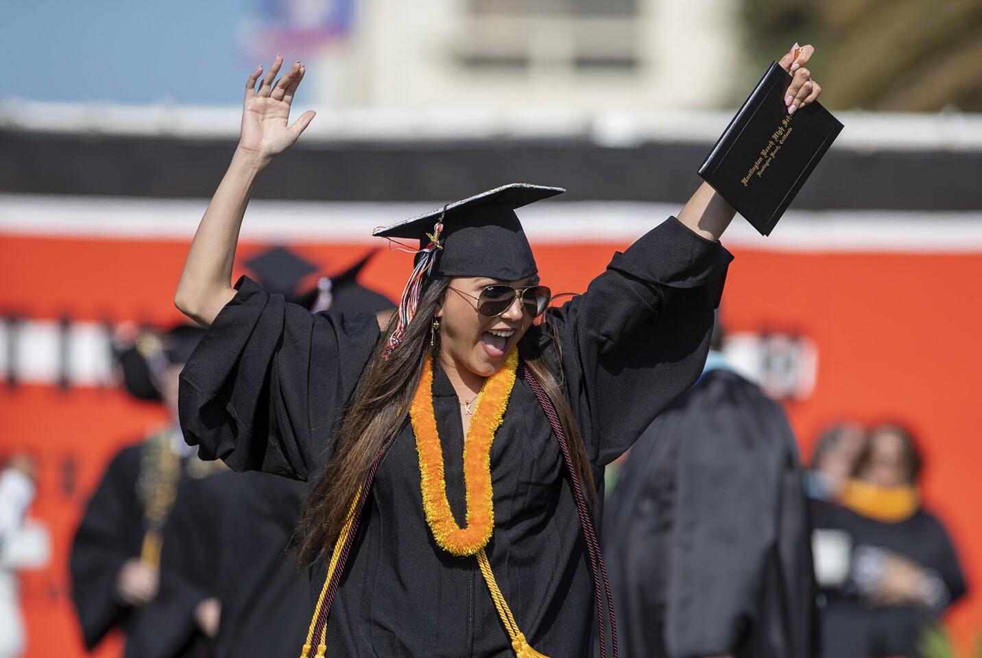 Photo Gallery: Huntington Beach High School graduation