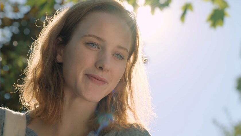 "Rachel Brosnahan in ""Change in the Air."" Credit: Screen Media"