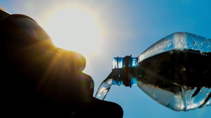 In the heat of summer, drinking water helps with appetite, hydration and hangovers.