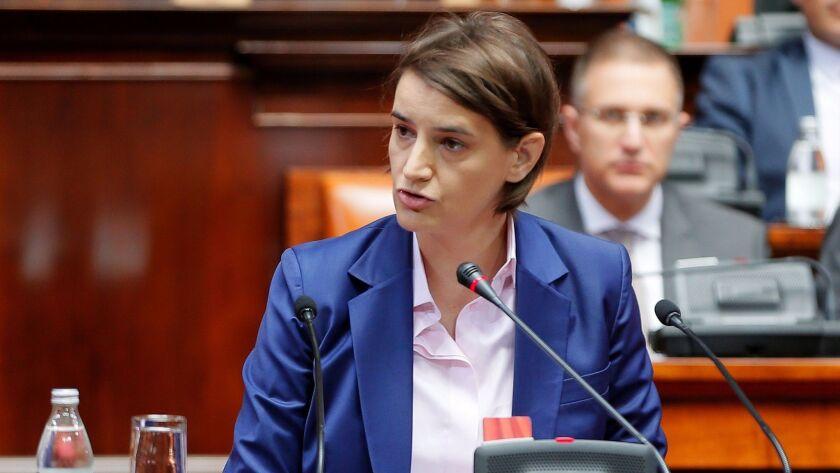 SERBIA-POLITICS-GOVERNMENT