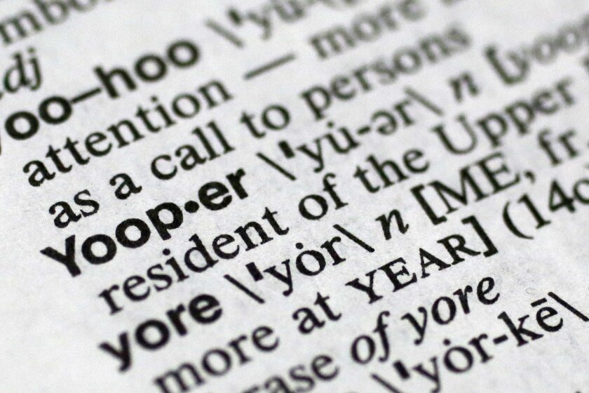 Yooper Blooper Dictionary Pronounciation Omits P The San Diego Union Tribune Is it 'pronunciation' or 'pronounciation'? the san diego union tribune