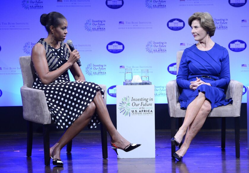 Michelle Obama at the US-Africa Leaders Summit