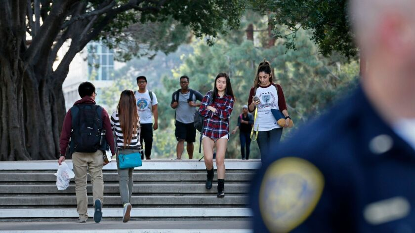 U.C. Irvine police will have an increased presence on campus after an attempted kidnapping this week.