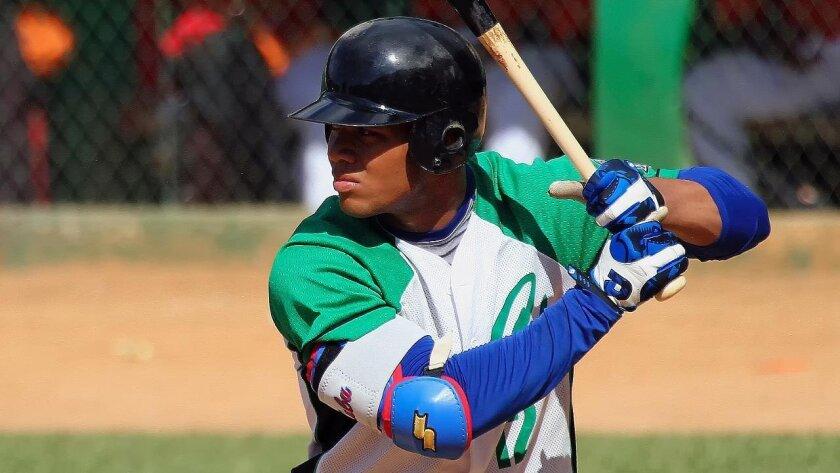 Cuban infielder Yoan Moncada, 19, is expected to break international amateur bonus records.