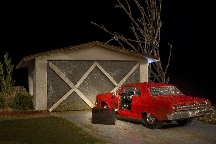 """Tony Maher A photograph titled """"The Day Dad Moved Out,"""" circa 2010 on an archival pigment print fea"""