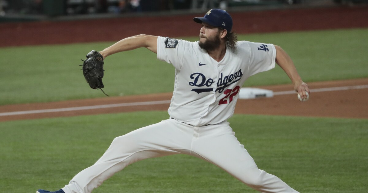 Column: Clayton Kershaw shows how great he is when World Series opponent isn't cheating