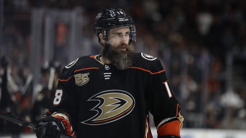 Ducks' Patrick Eaves is day-to-day with an upper-body injury.