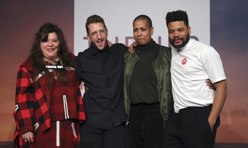 Britain's Turner Prize winners