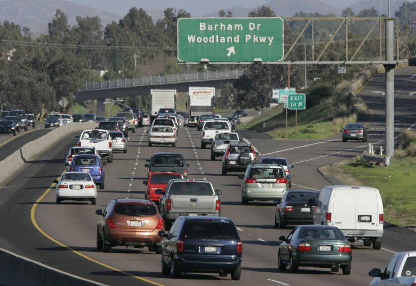 An analysis by the Union-Tribune found that the length of eastbound state Route 78 slowdowns approaching Barham Drive last year averaged longer than 4 miles.