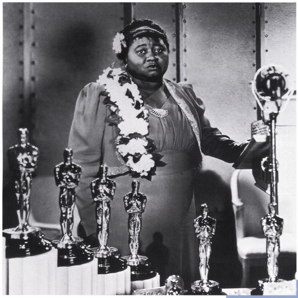 """In her tearful Oscar acceptance speech, McDaniel said: """"I sincerely hope I shall always be a credit to my race and the motion picture industry."""" But just a few months earlier, she and the film's other African American actors were barred from attending the premiere of the 1939 film in racially segregated Atlanta."""