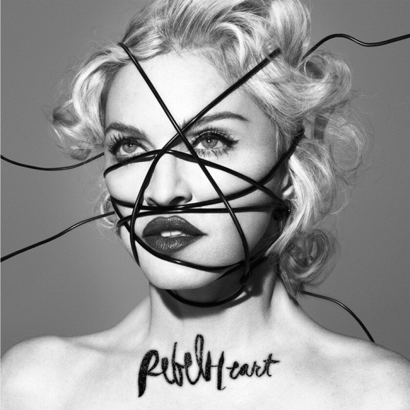 "Madonna's new album, ""Rebel Heart,"" will arrive March 10."