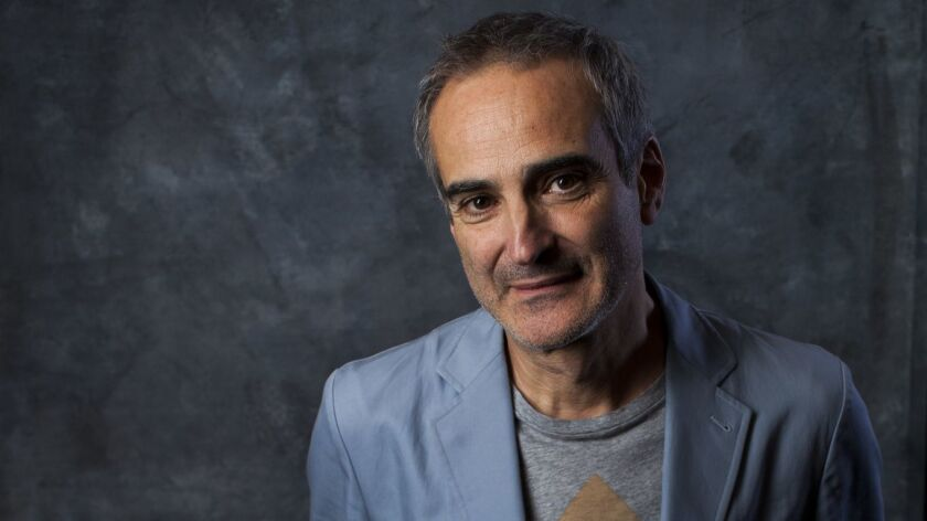 "Director Olivier Assayas photographed for ""Clouds of Sils Maria,"" at the Toronto International Film Festival, in Toronto, Sept. 6, 2014."