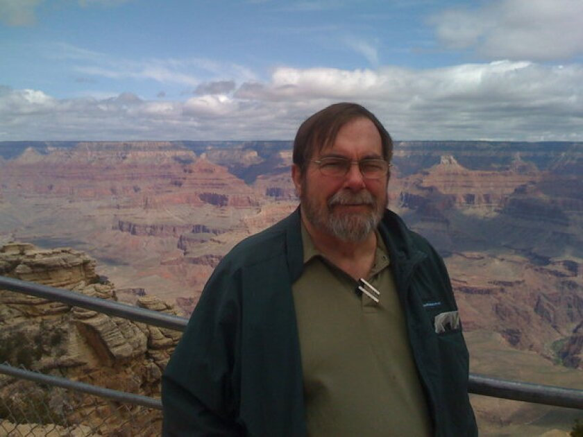 Joe Wysocki at Grand Canyon National Park. Wysocki, a volunteer at Channel Islands National Park, died this week when he fell trying to board a boat.