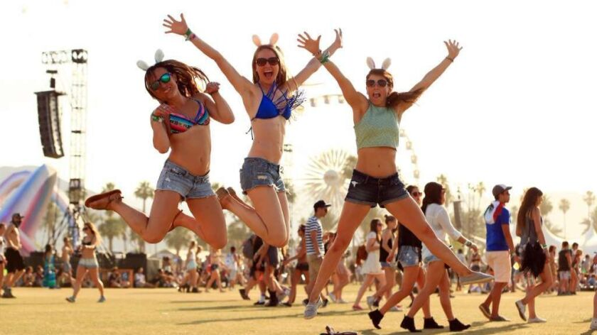 Will the Coachella festival be covered in haze of now-legal