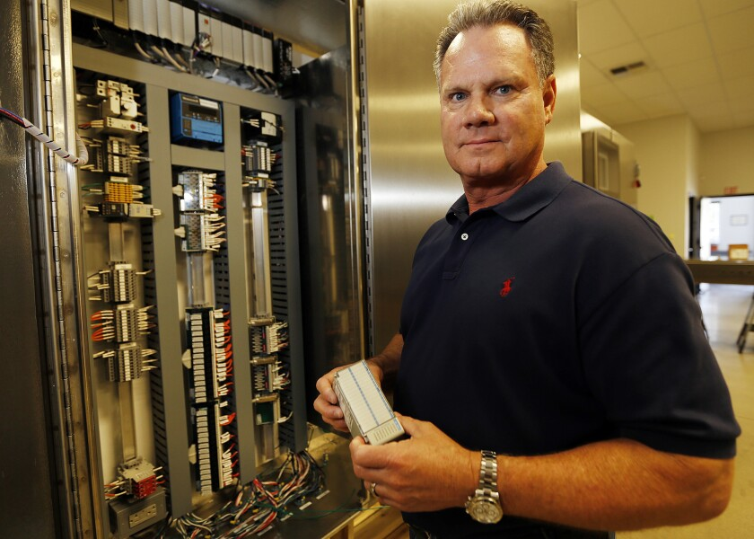 Don Nelson, chief executive of ProGauge Technologies Inc., is awaiting word on a bid for a project in the Middle East. If the company wins, he will do most of the work in the unnamed nation because it would be too expensive to obtain the required delivery guarantee without the help of the Export-Import Bank.