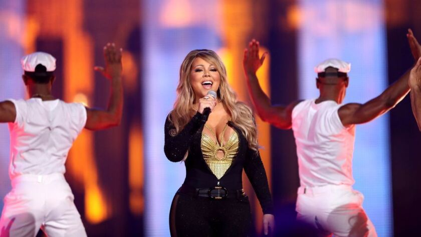"""Mariah Carey performs onstage during VH1's """"Hip Hop Honors: The 90s Game Changers."""""""