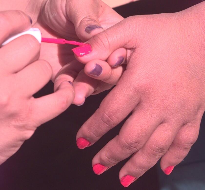 Nail polish study