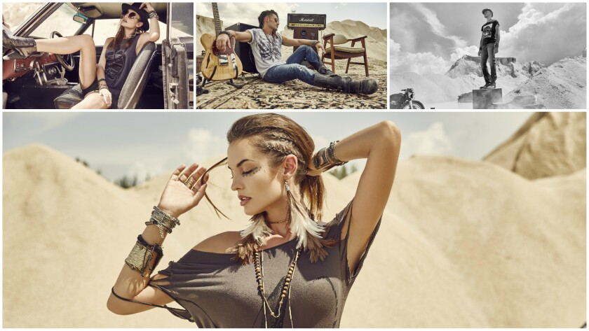 Looks from Maná's Ritos del Sol new collection.