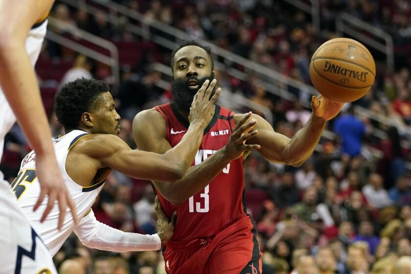 Nuggets Rockets Basketball
