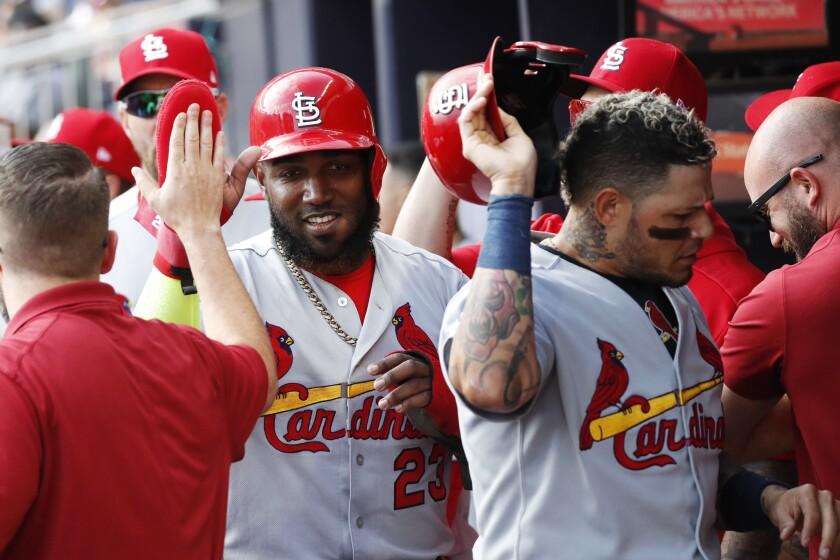 NLDS Cardinals Braves Baseball