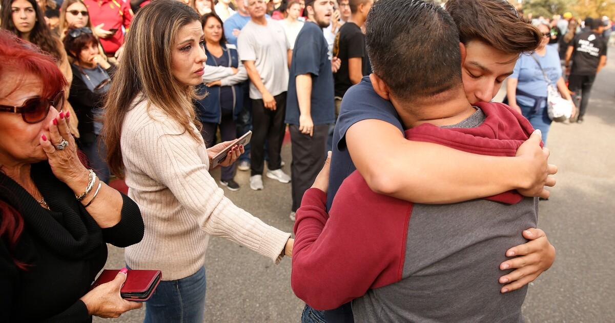 Die Antwort in Santa Clarita Amoklauf? Gott, Schuss-kits und Feuerlöscher als Waffe