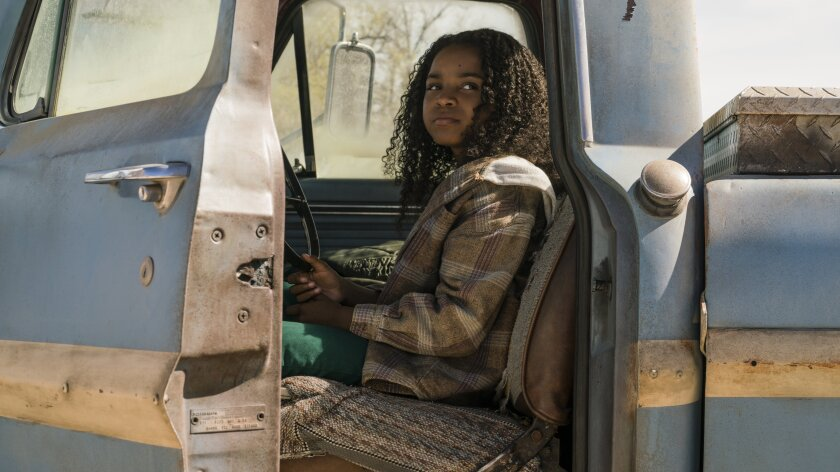 "Saniyya Sidney in the movie ""Fast Color."""