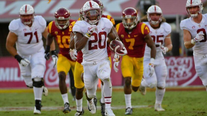 NCAA Football: Stanford at Southern California