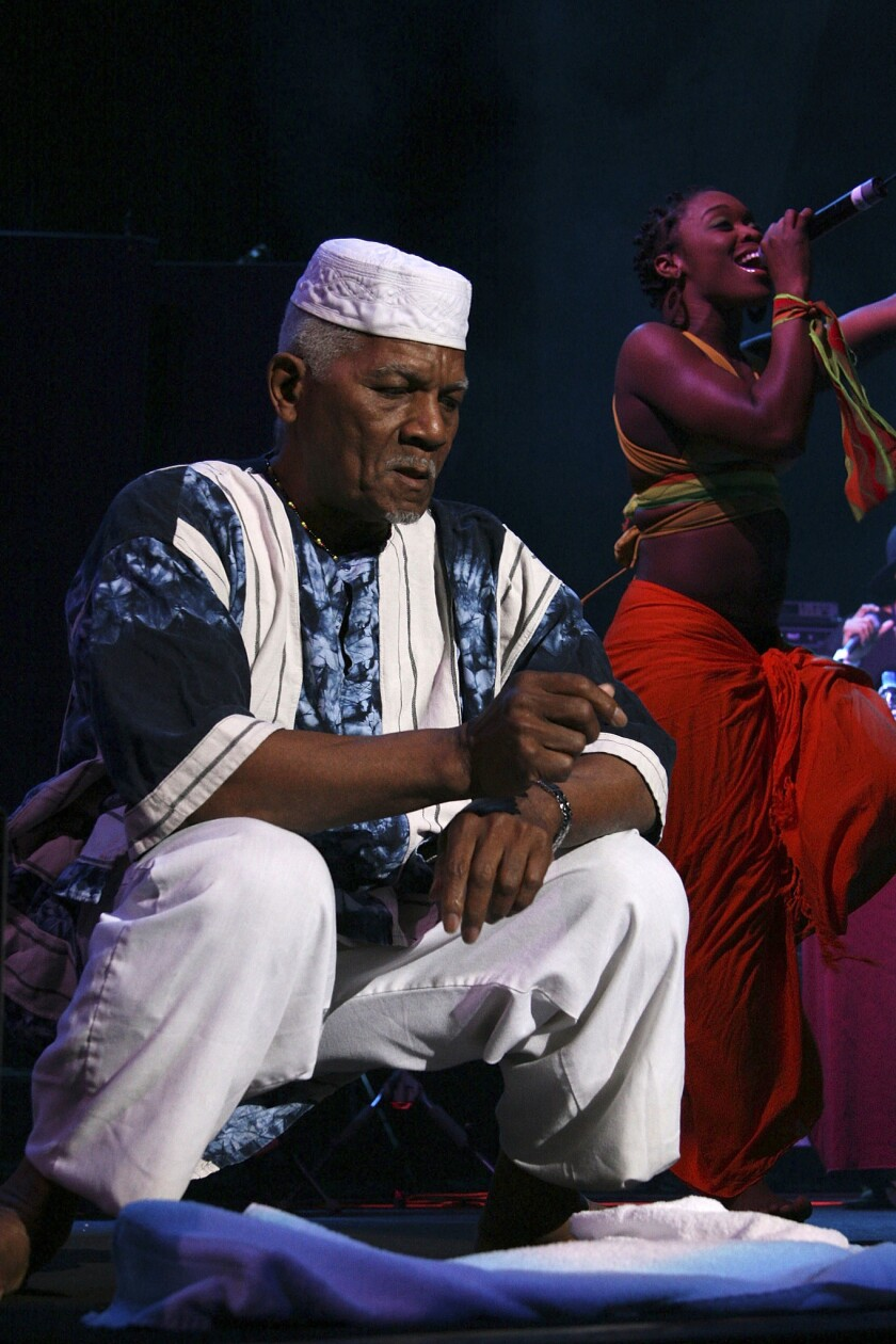 Arrested Development spiritual leader Baba Oje is dead at 86 from leukemia.