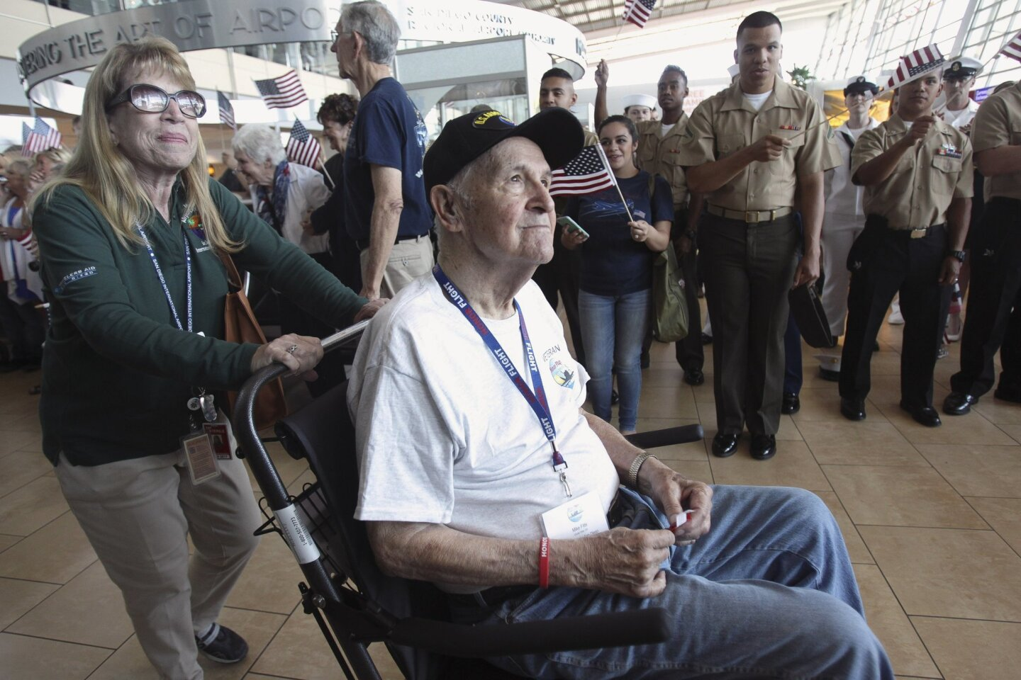 Honor Flight San Diego 2016
