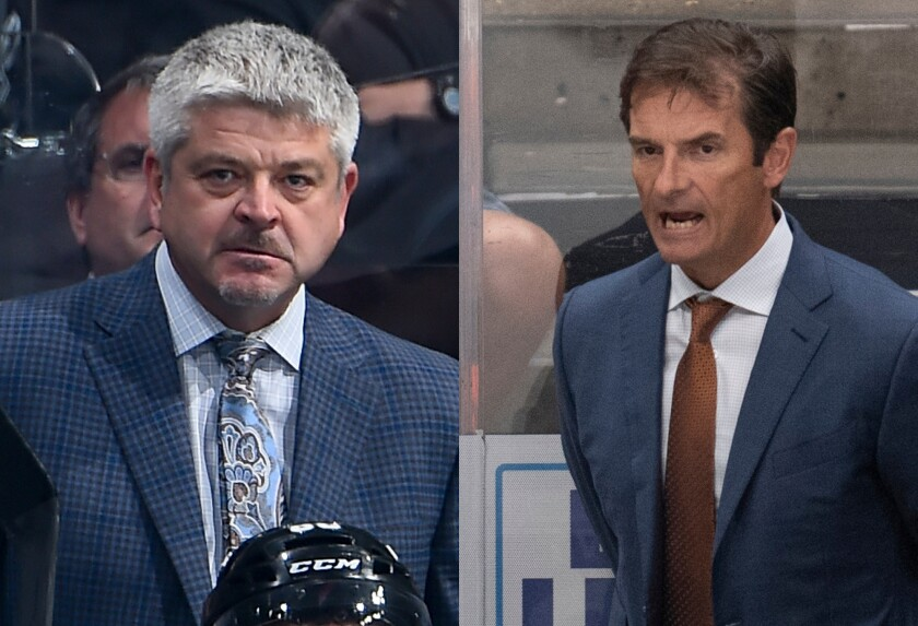 Todd McLellan and Dallas Eakins