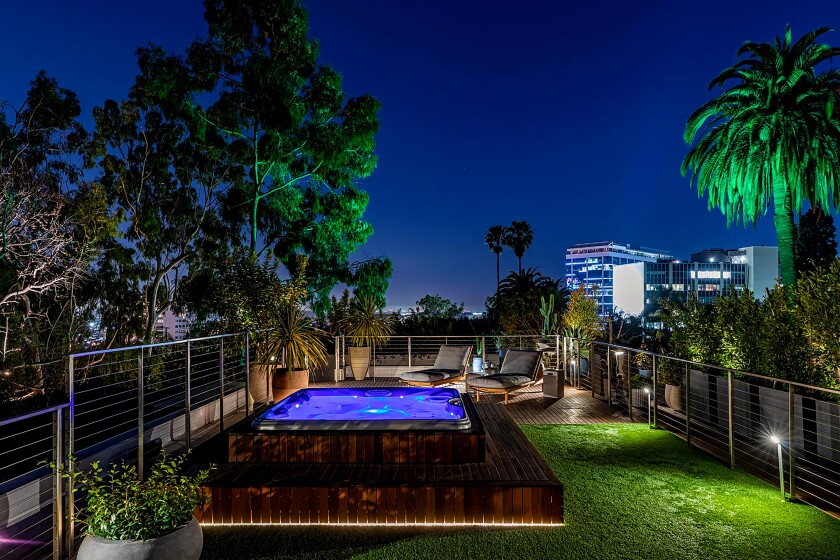 Home of the Week: Striking a modern pose in the Hollywood Hills