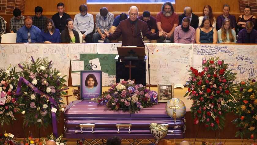 Sutherland Springs shooting funerals