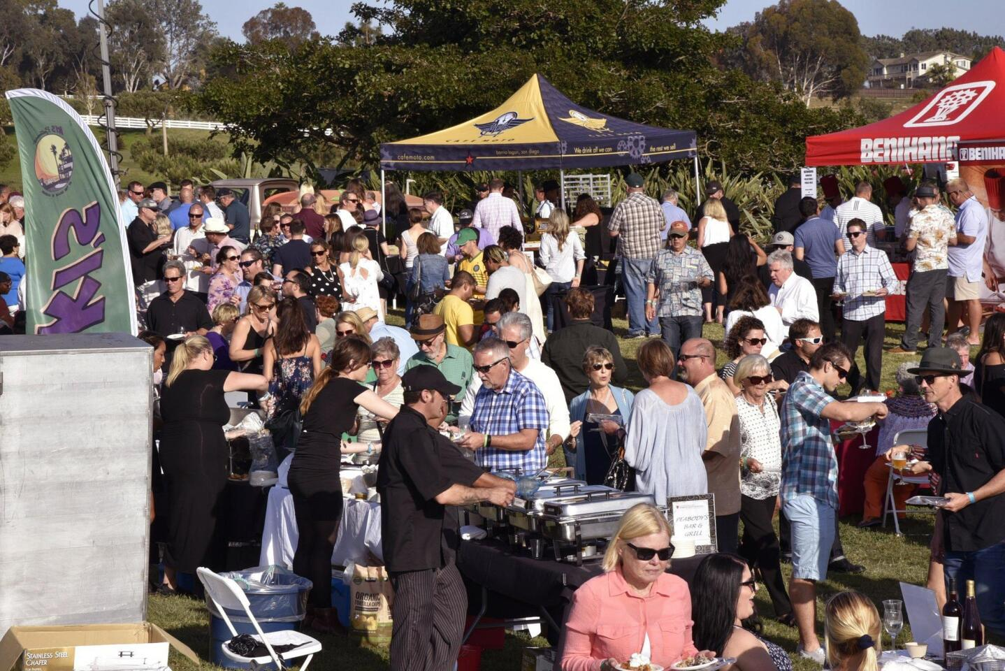 The Food and Wine Festival continues to be a popular local event