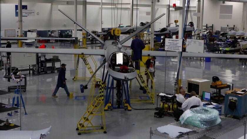 (PUBLISHED 5/25/2010, C-1) Dec.17 , 2009,- San Diego, CA,- General Atomic's unmanned autonomous vehi
