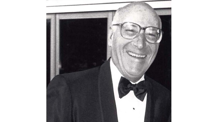 Longtime publicity and advertising executive Maurice Segal.