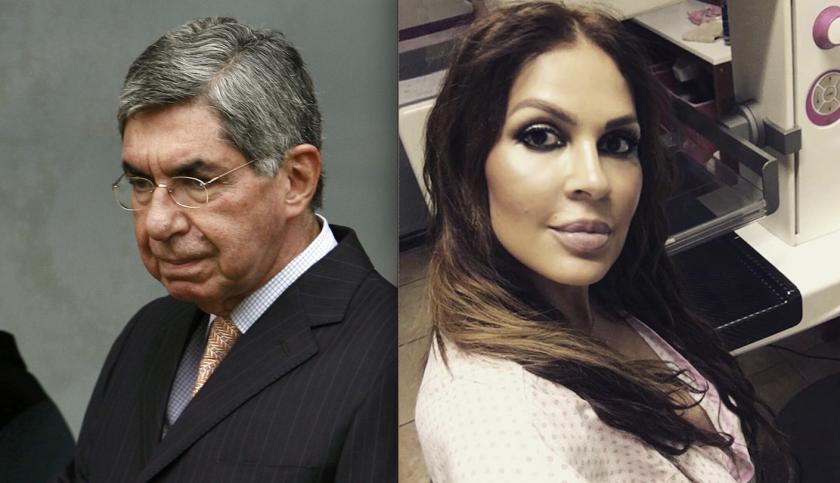 El ex presidente Óscar Arias, señalado por Yazmín Morales, ex Miss Costa Rica 1994.