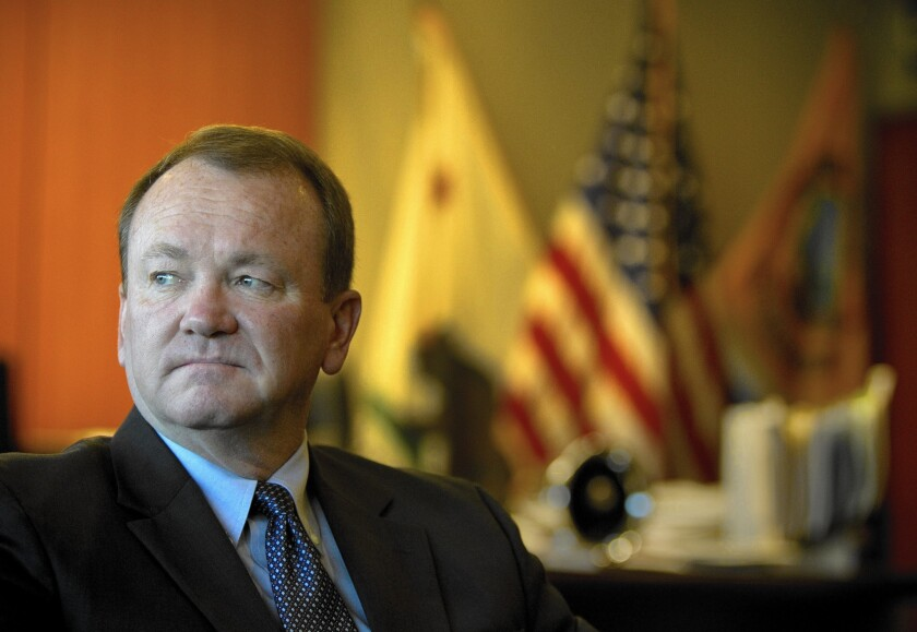 Long Beach police Chief Jim McDonnell is widely considered to be the front-runner in the Nov. 4 election to be the next sheriff of L.A. County. He would be the first sheriff in a century elected from outside the department's ranks.