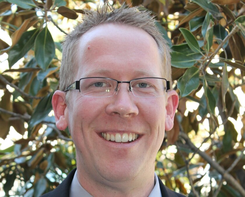 Greg Anglea, newly named executive director of Interfaith Community Services in Escondido.