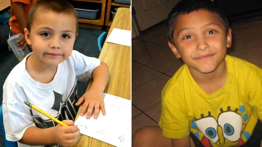 Family handout photos of Anthony Avalos, left, and Gabriel Fernandez. A long-awaited state audit of
