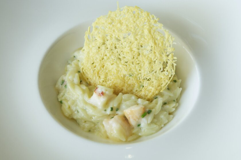 Lobster Mac 'n' Cheese, with mascarpone, parmesan, white truffle, orzo and chives. Photos by Kelley Carlson