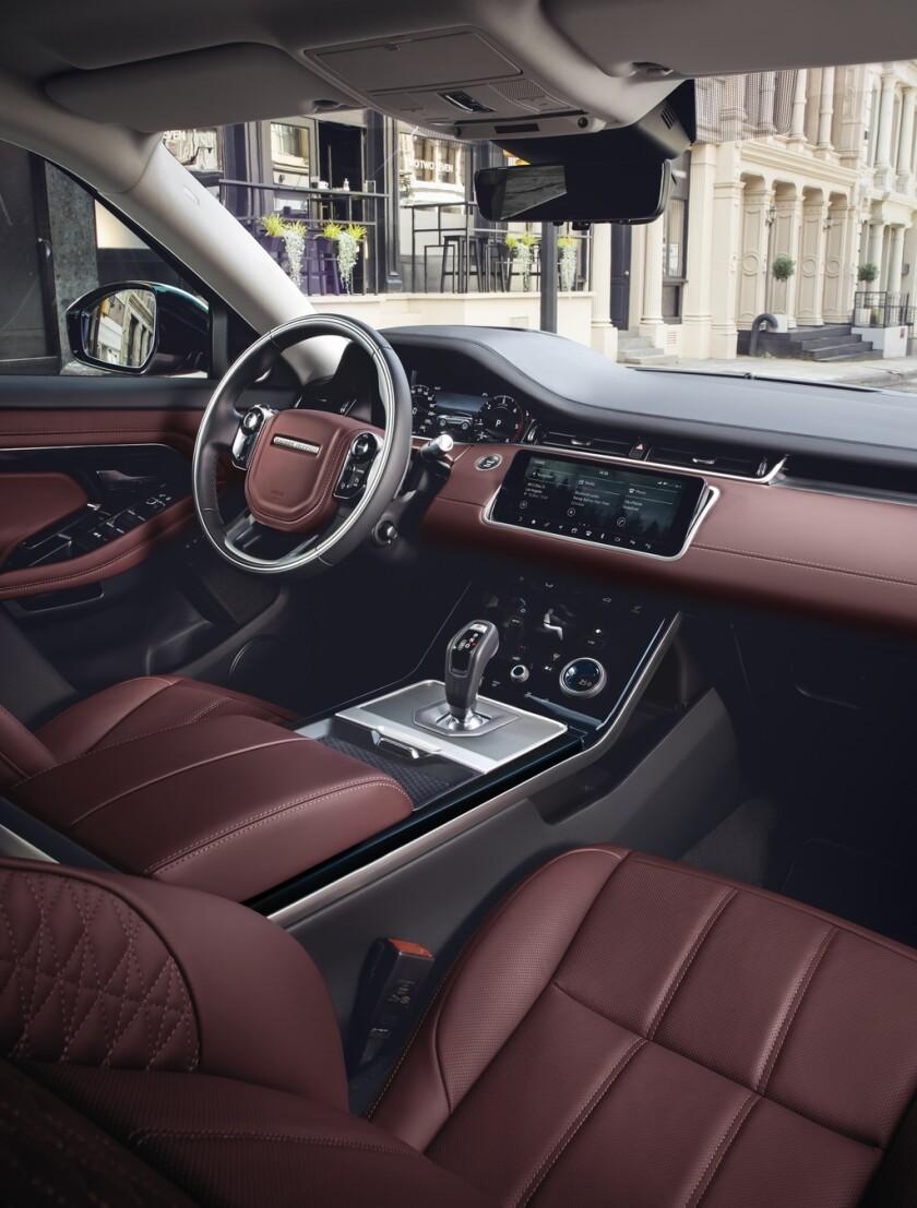 Range Rover Evoque Interior >> 2020 Range Rover Evoque An Evolved Beauty Marque The San
