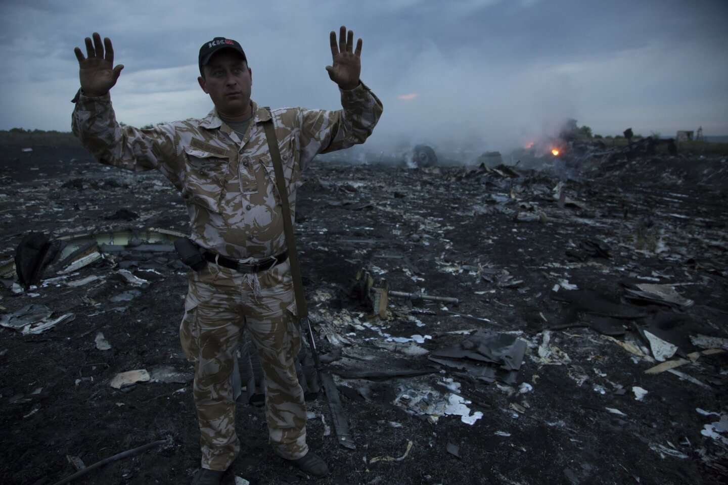 Malaysia Airlines jet shot down over Ukraine